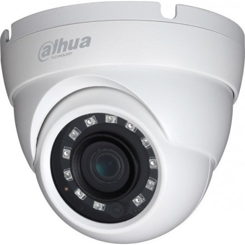 Κάμερα Dome ανάλυσης 1280x720 1MP - Dahua HAC-HDW1000M-S3 Εικόνα - Ήχος