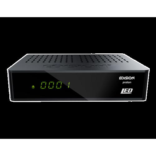 Δορυφορικός δέκτης Free-Τo-Air - DVB-S2 Full HD - EDISION PROTON LED