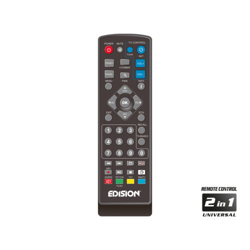 Επίγειος Ψηφιακός αποκωδικοποιητής H.264, MPEG4, Full High Definition DVB-T2 - EDISION PICCO T2 Ηλεκτρονικά