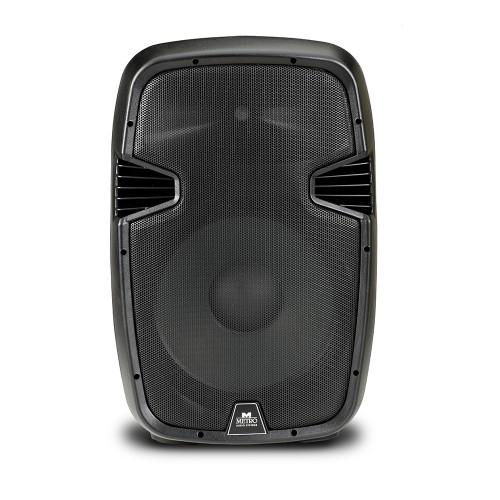 """Αυτοενισχυόμενο ηχείο 800W 15"""" με mp3 player και bluetooth - Metro ES-15A MP3 BT"""