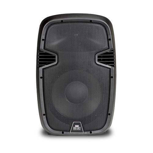 """Αυτοενισχυόμενο ηχείο 600W 12"""" με mp3 player και bluetooth - Metro ES-12A MP3 BT"""