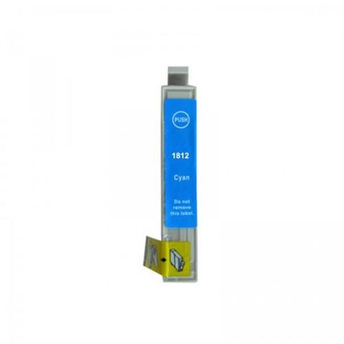 ΣΥΜΒΑΤΑ ΜΕΛΑΝΙΑ EPSON XL 18-ml  T-1812 Cyan