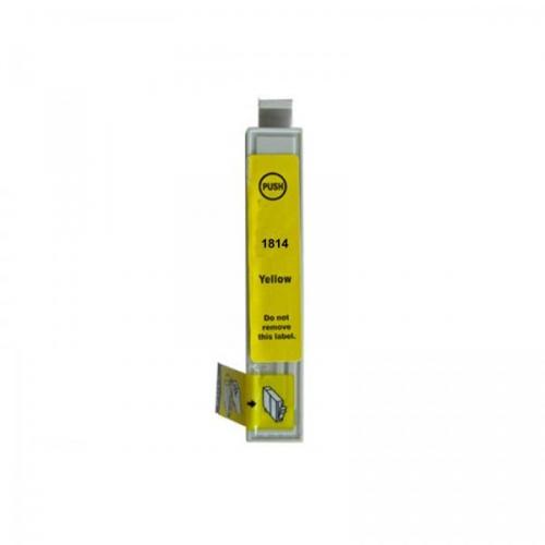 ΣΥΜΒΑΤΑ ΜΕΛΑΝΙΑ EPSON XL 18-ml  T-1814 Yel Toner - Μελάνια - Εκτυπωτές
